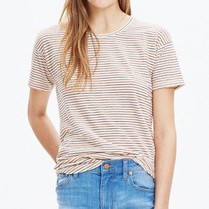 Madewell Striped Whisper Cotton Tee